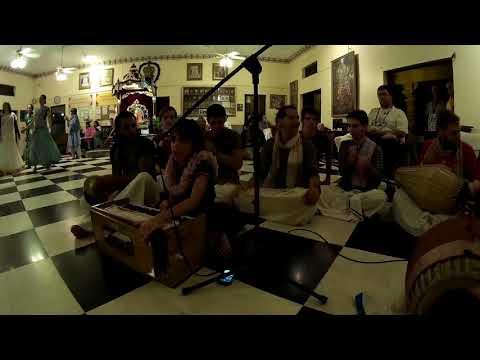 Mayuri Chants Hare Krishna After Alachua Sunday Feast