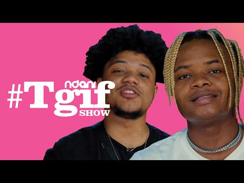 London and Crayon on The NdaniTGIFShow