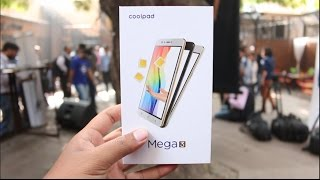 Coolpad Mega 3 Unboxing, Hands on, Camera, Features, Price
