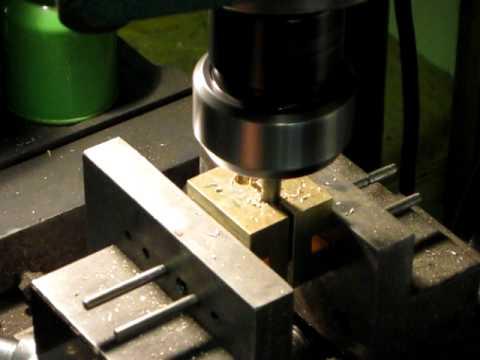 Cutting bullet mold cavities