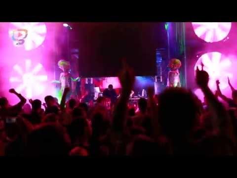 DANCE EXXTRAVAGANZA - EUROPA 2 LIVE BY MINISTRY OF FUN ANG GLUUU.TV NA PLÁŽI POD UFOM!