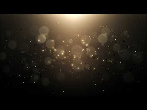 4k Golden Dust Background Looped Animation | Free Version Footage