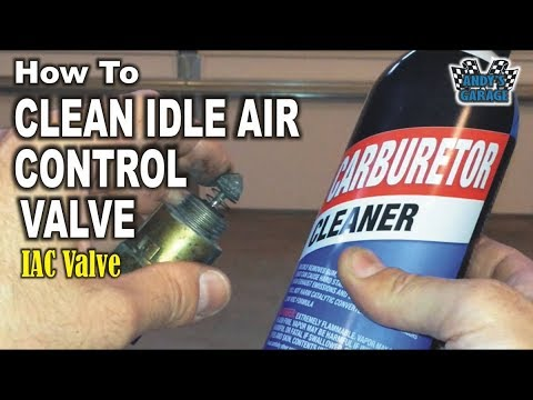 How To Clean Idle Air Control (IAC) Valve (Andy's Garage: Episode - 73)
