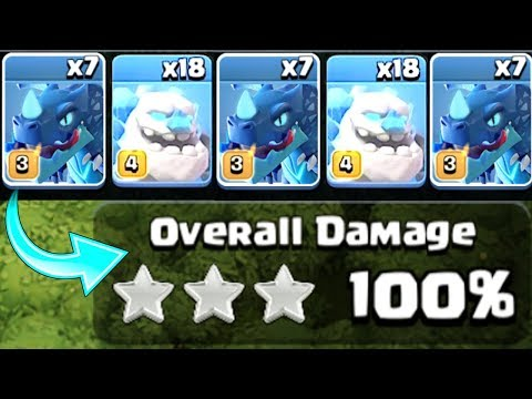 NEW ICE GOLEM STRATEGY! DOES THIS WORK!? - Clash Of Clans