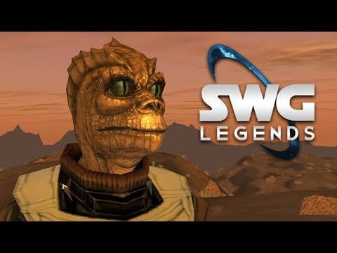 Leveling A Lizard – Star Wars Galaxies Gameplay