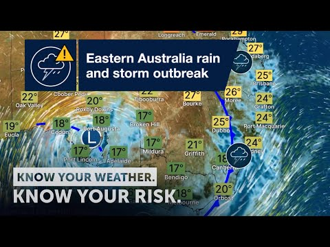 Severe Weather Update: eastern Australia rain and storm outbreak 13 October 2021