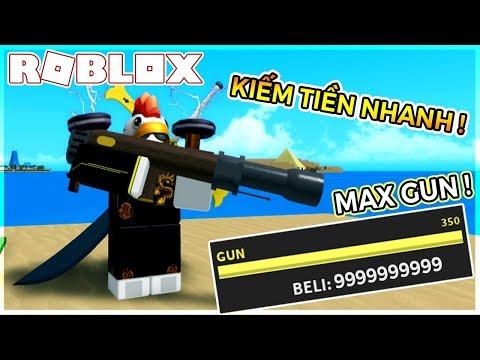 CÁCH CÀY TIỀN VÀ DIỆT QUÁI SIÊU NHANH VỚI SÚNG CANON MAX ĐIỂM GUN 350 | One Piece Millenium (Roblox)