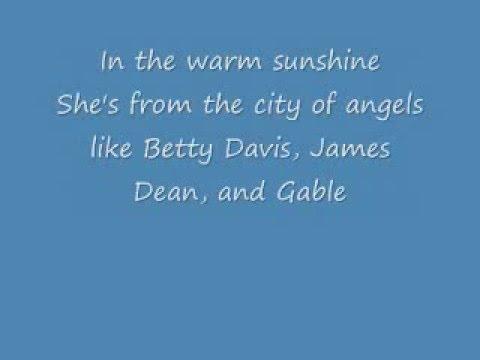Girl on TV Lyrics