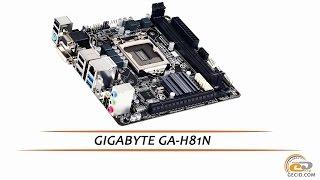 gIGABYTE GA-H81N - видеообзор компактной материнской платы