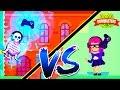 Веселое видео про БИТВУ мульт героев ПЕРВАЯ ПОБЕДА В ТУРНИРЕ игра с мультяшной графикой Bowmasters