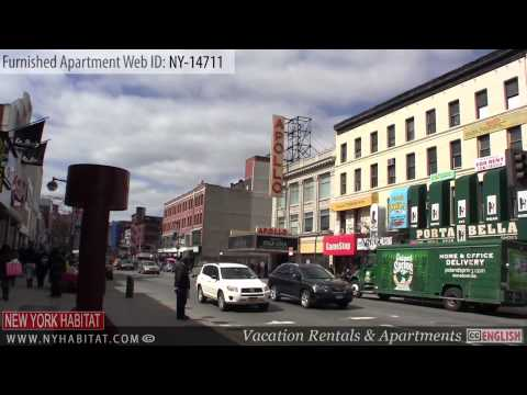 Harlem, New York - Video Tour of a 2-Bedroom Furnished Apartment Rental