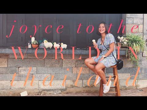 THE THAILAND TRAVEL DIARY | Joyce Pring TV