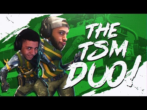 YOUR FAVORITE TSM DUO! POPPING OFF WITH HAMLINZ (Fortnite BR Full Match)