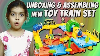New Toy Train Set   Unboxing   Assembling   Make your child creative and Intelligent