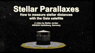 Stellar Parallaxes - How to measure stellar distances with the Gaia satellite