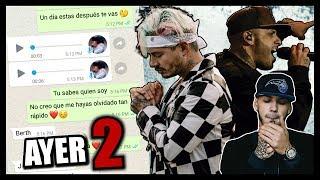 """BROMA a CHICA con letra de CANCION """"AYER 2"""" - Anuel AA J Balvin, Nicky Jam, Cosculluela"""