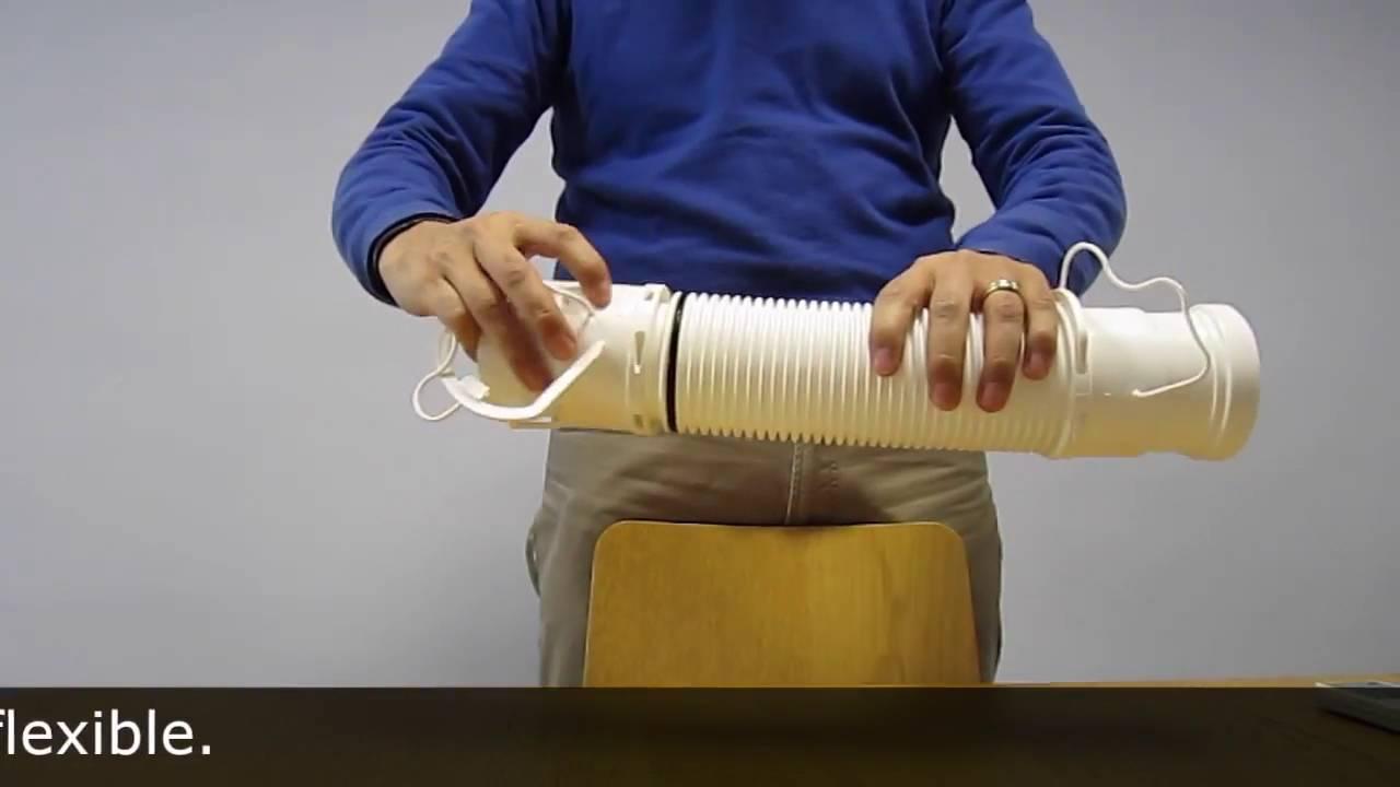 fig tubo flexible condensacion con manguitos adaptadores