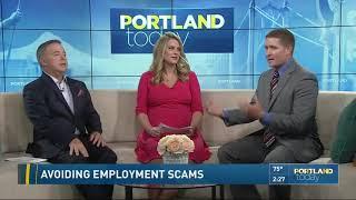 Avoiding employment scams