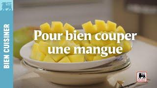 Pour bien couper une mangue