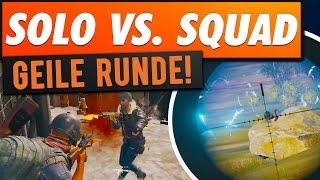 SOLO VS. SQUADS! - Alleine Gegen ALLE in Playerunknowns Battlegrounds