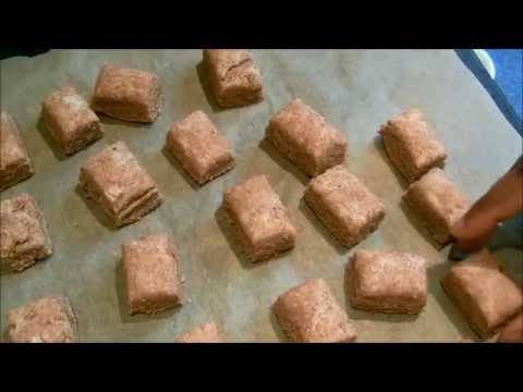 Make Simple Dog Biscuits - make your own dog treats Pics