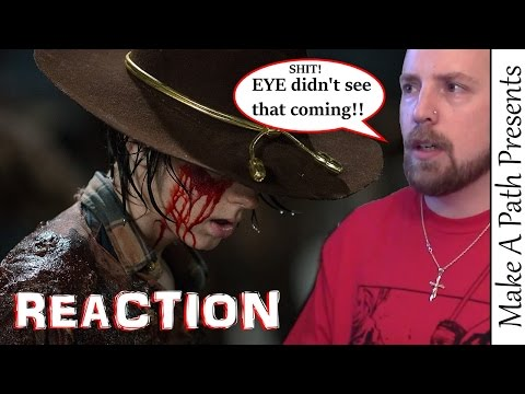 REACTION to The Walking Dead Episode 9