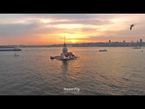 Kız Kulesi - İstanbul Havadan Videosu - Hezar Fly - Phantom 3