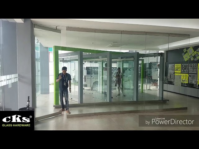 CKS-FD9000H Slide and Stack System / Glass Door System Videos