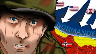 Downfall of Germany: The Western Front (1/2) | Animated History