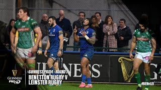 Guinness PRO14 Round 7 Highlights: Benetton Rugby v Leinster