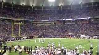 Funny Wave at Vikings Game