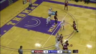 Augsburg Women's Basketball Highlights - St. Thomas 1/21/17
