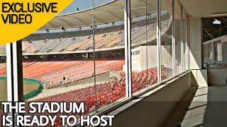 Ahmedabad Motera Cricket Stadium Is Ready To Host Latest Updates 2020   Motera Cricket Stadium Video