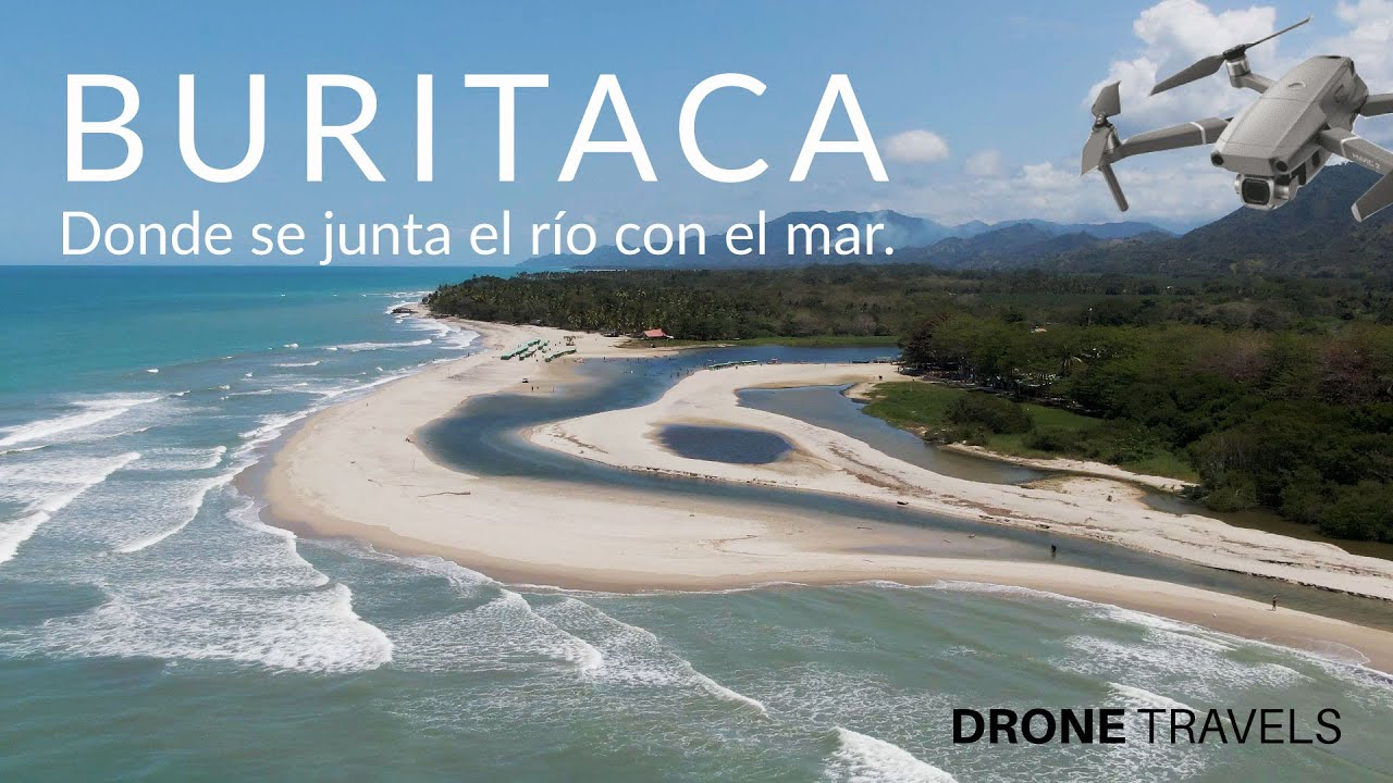 Buritaca Santa Marta Desde Un Drone Drone Travels Youtube