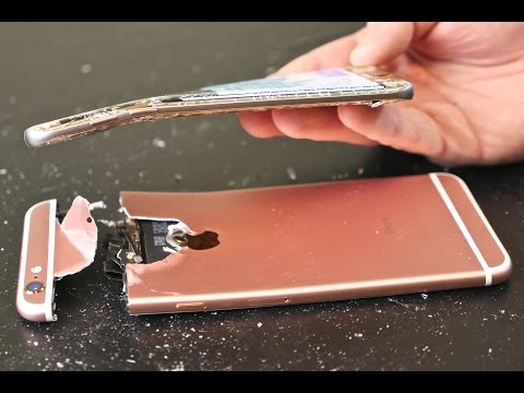 Samsung Galaxy S7 Edge Bend Test vs iPhone 6S Plus!