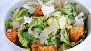 Caesar Salad With Balsamic Caesar Dressing - Marcel Cocit - Love At First Bite Episode 21