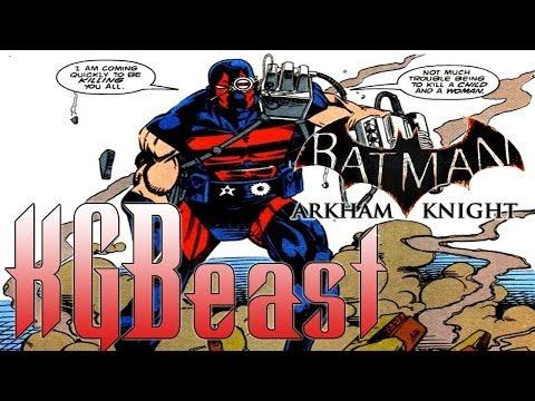 Batman: Arkham Knight Villains | KGBeast (Ep.3)