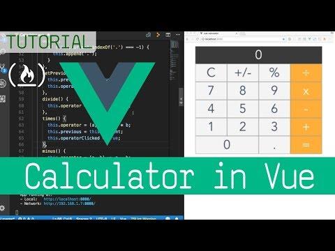 Build a Calculator with Vue.js