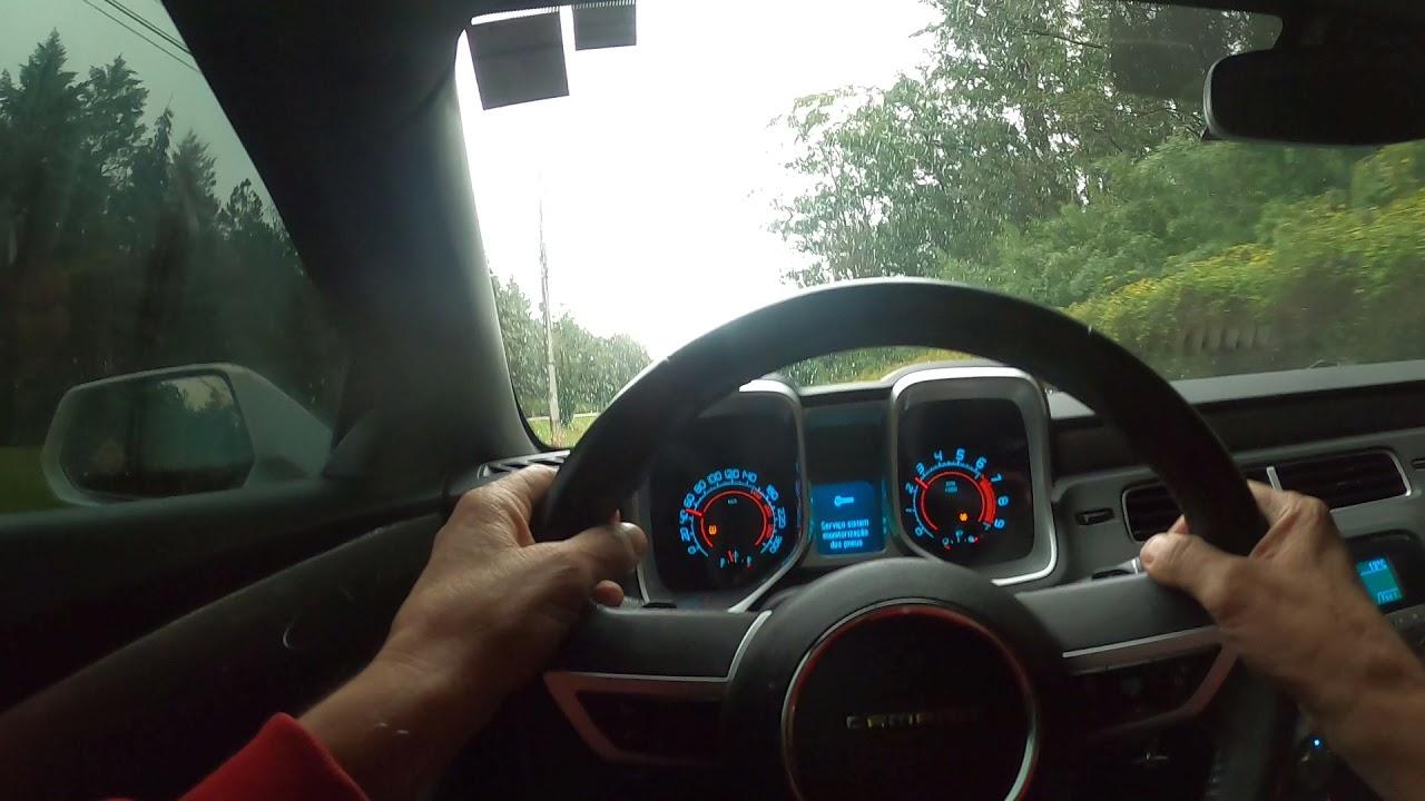 CAMARO SS V8 ANO 2011 TEST DRIVE ESCAPE  ABAFADOR E PONTEIRAS ATALLA EM ACO INOX 304 LINDO 28-07-21