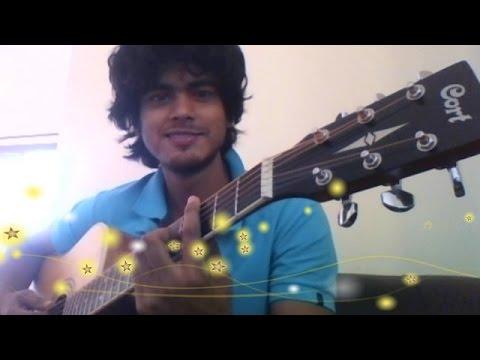 Baatein Ye Kabhi Na Arjit Singh-  Khamoshiya HD Guitar Instrumental Cover ft. Sam Haldar