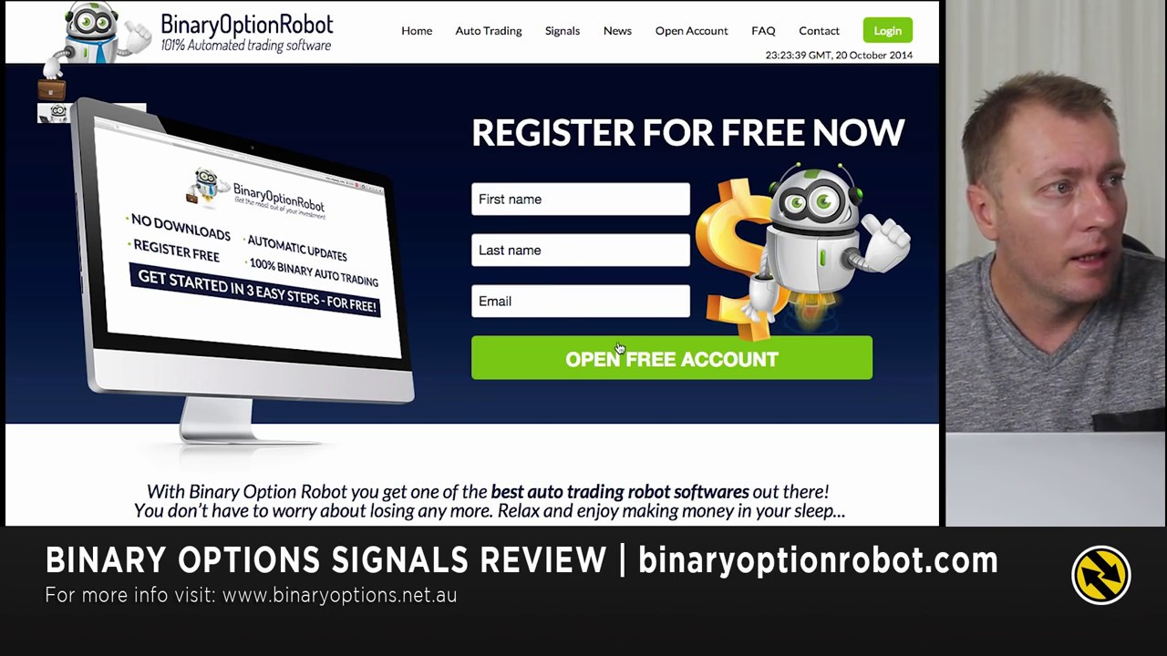 Free binary options robot reviews