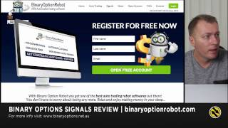 Binary Option Robot Review  100% Automated Trading Software