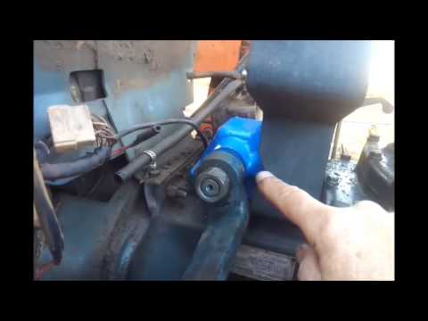 hqdefault kubota l295 steering box repair works almost like power steering one