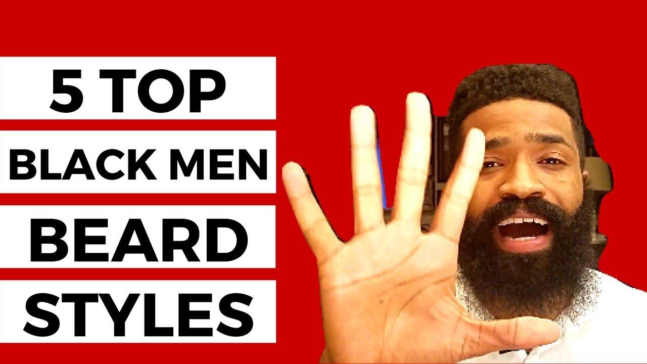 5 Top Black Men Beard Styles That Are Dope