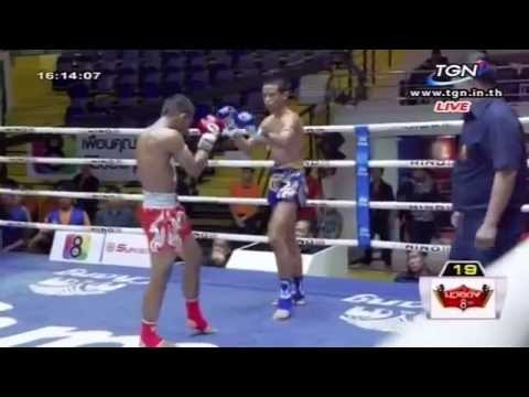 Professional Muay Thai Boxing from Lumphinee Stadium on 2014-11-08 at 4 pm