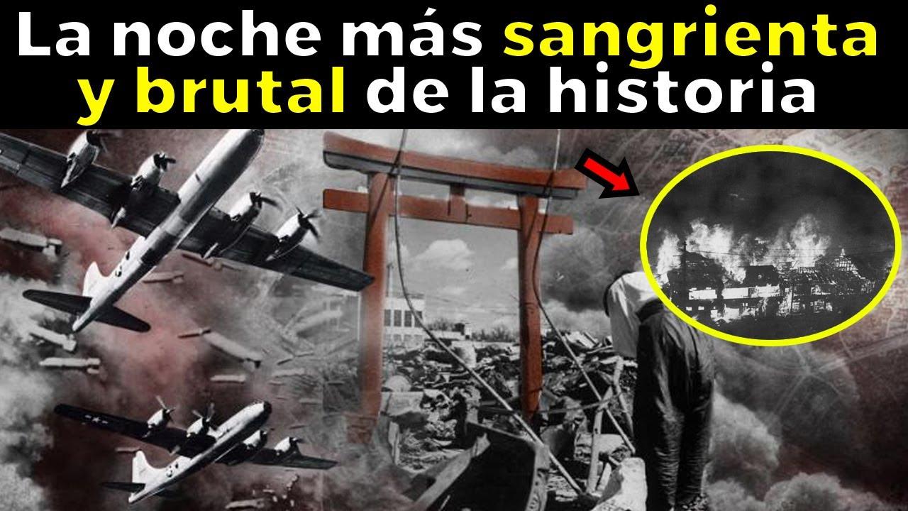 LA NOCHE QUE TOKIO FUE ARRASADA: uno de los bombardeos más mortíferos de la historia