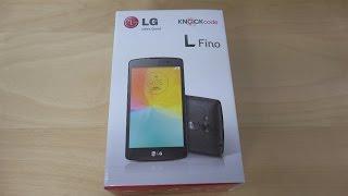 LG L Fino - Unboxing (4K)