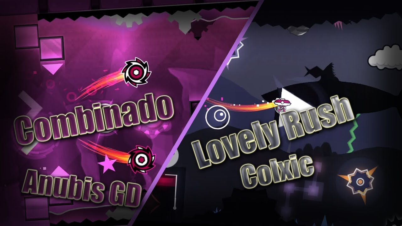 Download Combinado by Anubis GD - Lovely Rush by Colxic    GD 2.11