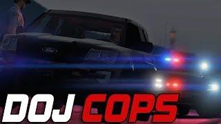 Dept. of Justice Cops #733 - Reckless & Running