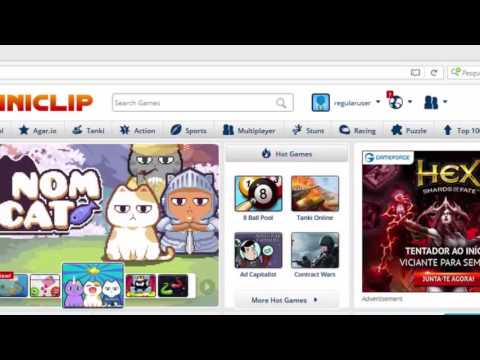 How To Connect Your Miniclip Account To Facebook